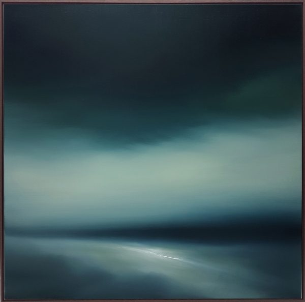 Theresa Hunt - Untitled Seascape II - Oil Painting