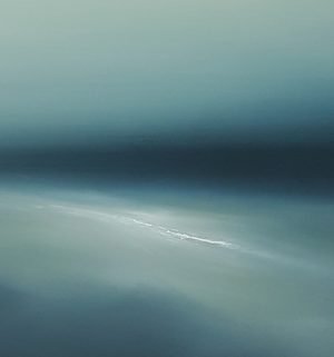 Theresa Hunt - Untitled Seascape - Oil Painting