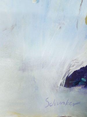 Amanda Schunker - Adrift 1 - painting on paper