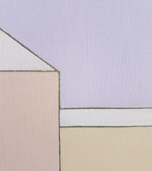 Kiss the Purple Sky (Jimi Hendrix) - Jasmine Mansbridge - Painting