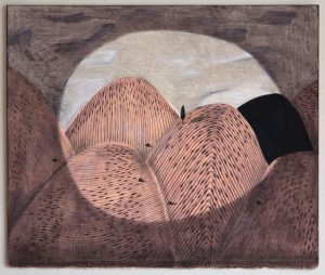 Kerrie Oliver - Crossing Divides - Mixed Media Work