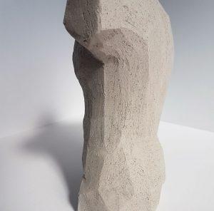 Kristiina Haataja - Male Torso - Ceramic Sculpture