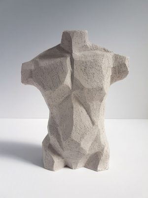 Kristiina Haataja - Male Torso - Ceramic Sculpture