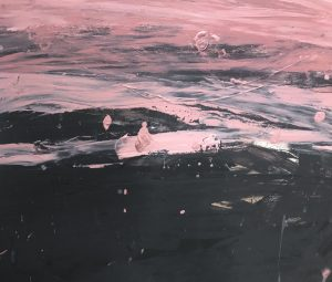 Monique Lovering - Day to Night - Abstract Painting