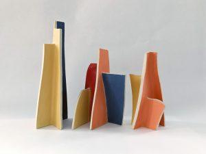 Natalie Rosin - Montage No.5 - Ceramics