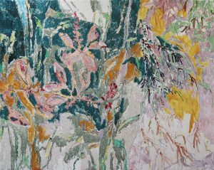 Amy Wright - Orchids and Plants Unknown - Landscape Painting
