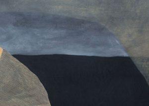 Kerrie Oliver - Behemoth Bedruthan - Mixed Media Artwork