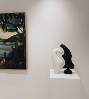 Paired 1 - Katarina Wells - Ceramic Sculpture