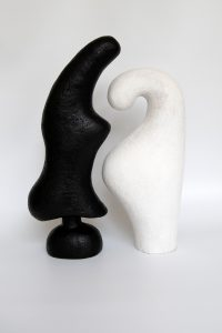 Paired 1 - Katarina Wells - Ceramic Sculpture