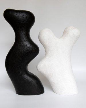 Paired 4 - Katarina Wells - Ceramic Sculpture