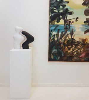 Paired 5 - Katarina Wells - Ceramic Sculpture