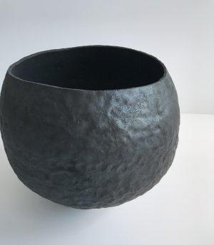 Katarina Wells - Heart Shaped Pot - Ceramic Sculpture