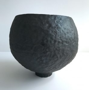 Katarina Wells - Heart Shaped Pot - Ceramic Sculpture