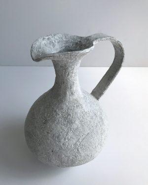 Katarina Wells - Chalk Pitcher - Ceramic Sculpture