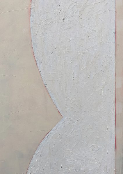 Rachael McCully - This Is Not A Letter II - Abstract Painting