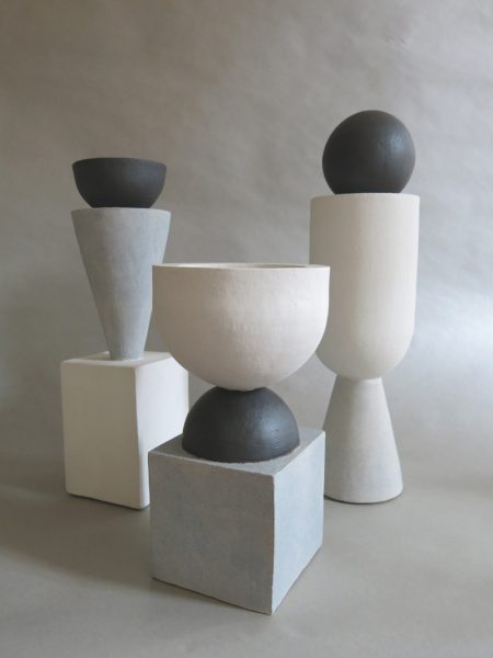 Humble Matter - Simple Geometry Ball Vessel - Sculpture