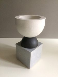 Humble Matter - Simple Geometry Chalice Vessel - Sculpture