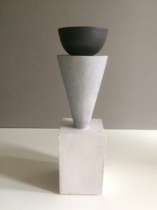 Humble Matter - Simple Geometry Trophy Vessel - Sculpture