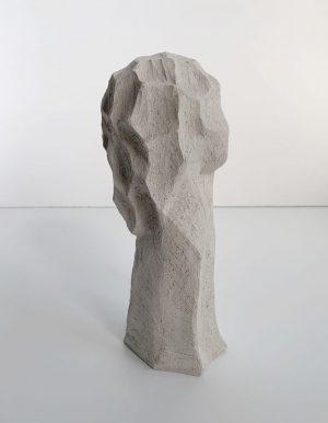 Kristiina Haataja - The Thinker - Clay Sculpture