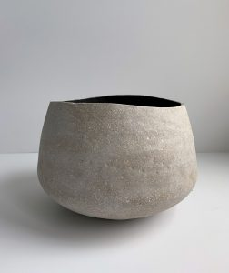 Katarina Wells - Wavy Rimmed Bowl - Ceramic Sculpture