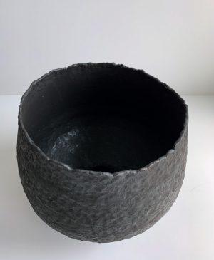 Katarina Wells - Raw Edged Pod - Ceramic Sculpture