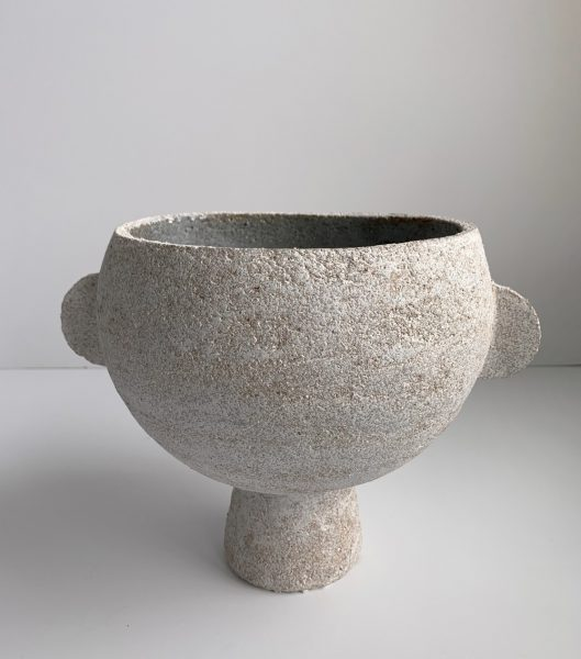 Katarina Wells - Bowl With Ears - Ceramic Sculpture