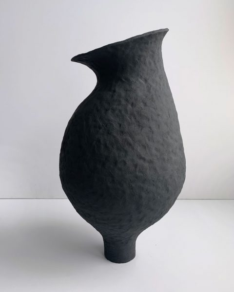 Katarina Wells - Moon Flower - Ceramic Sculpture