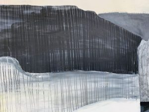 Lily Cummins - I Would Move Mountains For You - Mixed Media
