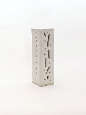 Natalie Rosin - Marquette 3 - Ceramic Sculpture