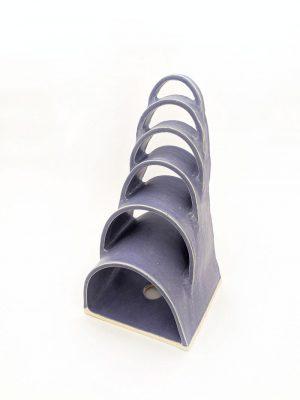Natalie Rosin - Montage No. 9 - Ceramic Sculpture