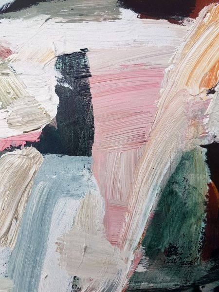 Antonia Mrljak - This is What's Inside - abstract painting