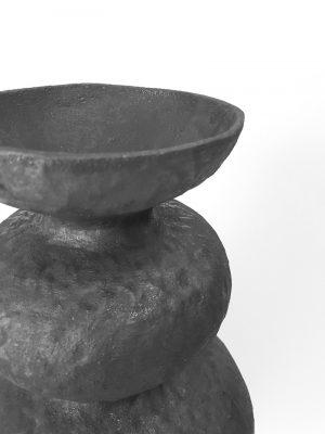 Katarina Wells - Papa Vessel - Ceramic Sculpture