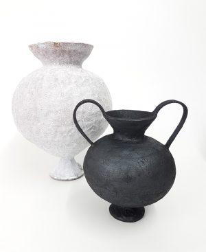 Katarina Wells - Attitude Vessel - Ceramic Sculpture
