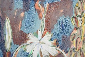 Amy Wright - The Silver Lily And The Adorned Wall - Work on paper