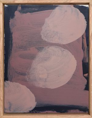 Monique Lovering - One Fourteen PM - Abstract Painting