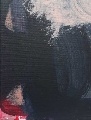 Monique Lovering - Nine Forty-One PM - Abstract Painting