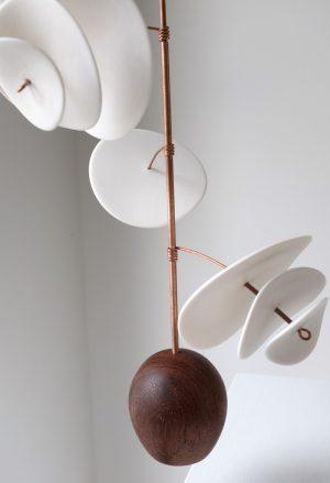 Odette Ireland - Counterbalance No.25 - Ceramic Sculpture