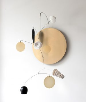 Odette Ireland - Eucalypt Wall Mobile Composition no.7 - Sculpture