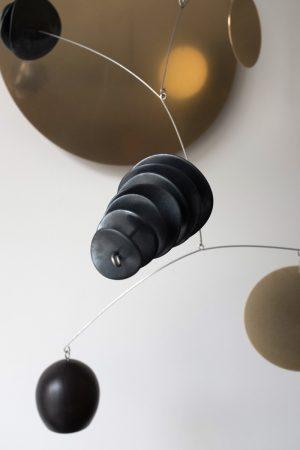 Odette Ireland - Eucalypt Wall Mobile Composition no.8 - Sculpture