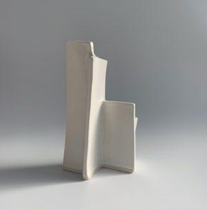 Natalie Rosin - Marquette 10 - Ceramic Sculpture