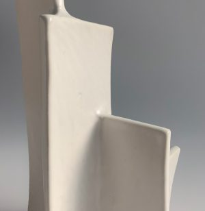 Natalie Rosin - Marquette 10 - Ceramic Sculpture