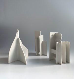 Natalie Rosin - Marquette 18 - Ceramic Sculpture