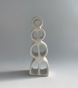 Natalie Rosin - Maquette 8 - Ceramic Sculpture