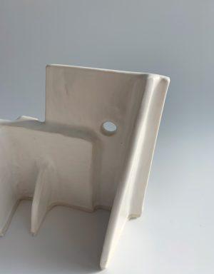 Natalie Rosin - Maquette 15 - Ceramic Sculpture