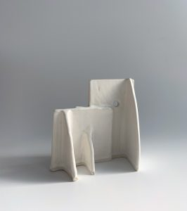 Natalie Rosin - Maquette 15 - Ceramic Sculpture
