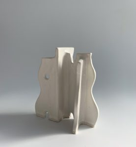 Natalie Rosin - Maquette 11 - Ceramic Sculpture