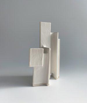 Natalie Rosin - Maquette 16 - Ceramic Sculpture