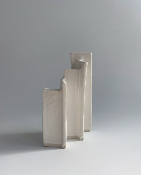 Natalie Rosin - Maquette 14 - Ceramic Sculpture
