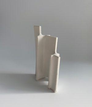 Natalie Rosin - Maquette 13 - Ceramic Sculpture