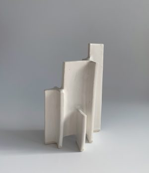 Natalie Rosin - Maquette 13 - Ceramic Sculpture
